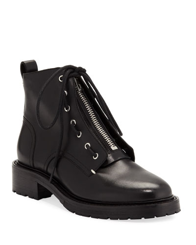 Cannon Front-Zip Ankle Boots