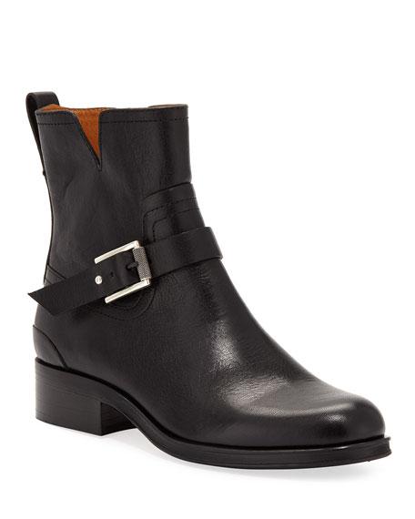 Rag & Bone Abel Short Leather Moto Boots