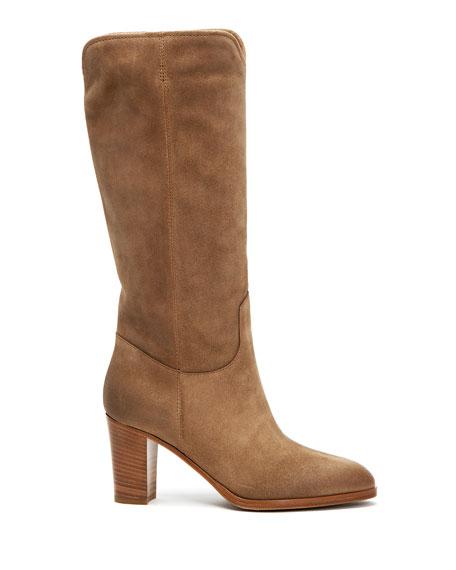 Frye June Suede Knee Boots