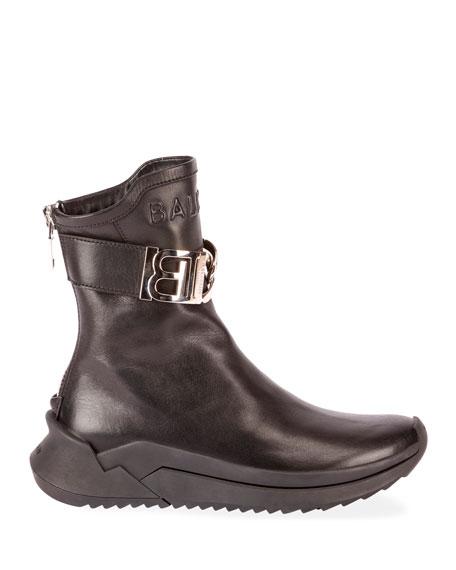 Balmain ID Sneaker B Booties