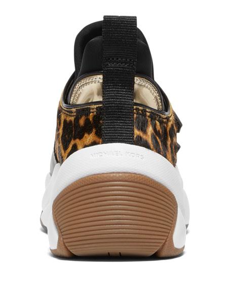MICHAEL Michael Kors Keeley Trainer Calf Hair Sneakers