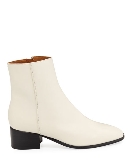 Rag & Bone Aslen Smooth Leather Mid Boots