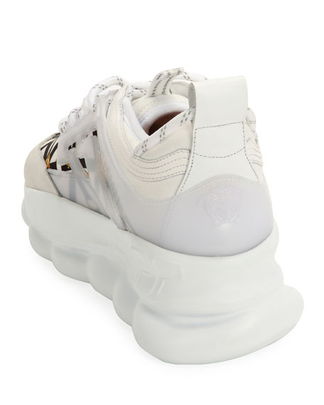 Versace Chain-Reaction Sneakers