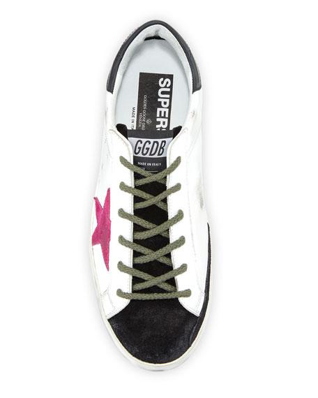 Golden Goose Superstar Colorblock Sneakers