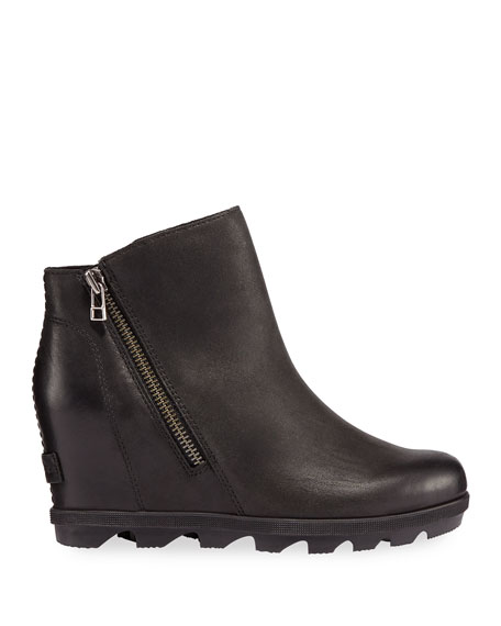 Image 2 of 3: Sorel Joan of Arctic Wedge II Waterproof Leather Zip Boots