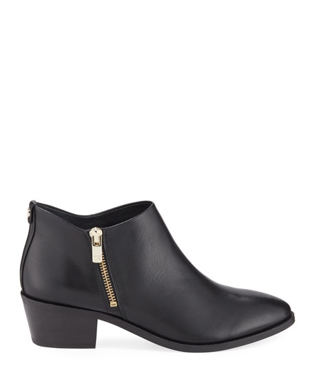 Taryn Rose Sara Leather Ankle Booties