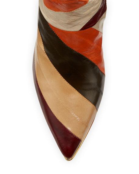 Tory Burch Lila Heeled Knee Boots