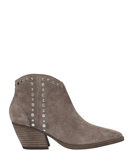 Marc Fisher LTD Deni Studded Ankle Booties