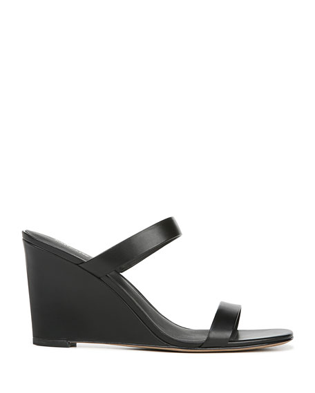 Diane von Furstenberg Vivienne Leather Slide Sandals