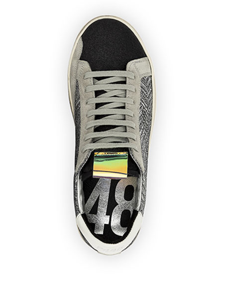 P448 John Chevron Lace-Up Sneakers