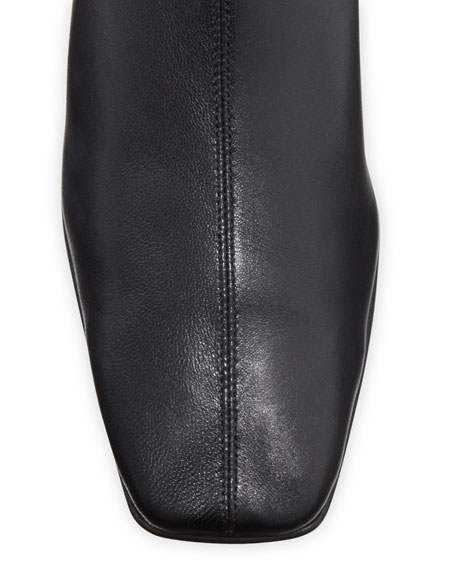 Image 3 of 3: BY FAR Edie Leather Knee Boots