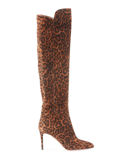 Aquazzura Gainsbourg Jaguar Knee Boots