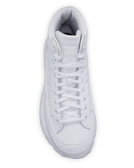 Adidas Kiellor Leather High-Top Sneakers