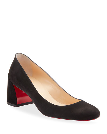 Christian Louboutin Pumps MISS SAB SUEDE RED SOLE PUMPS