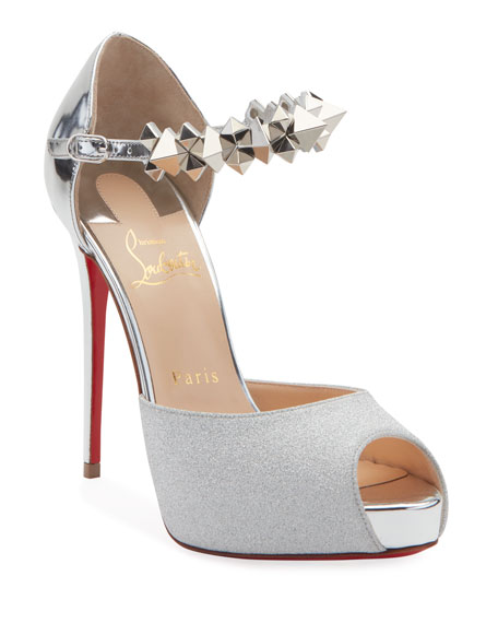 Christian Louboutin Planisfemme Platform Red Sole Pumps