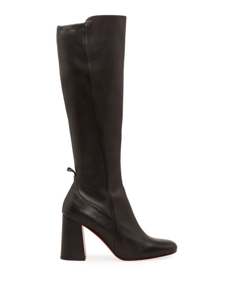 Christian Louboutin Kronobotte Red Sole Knee Boots