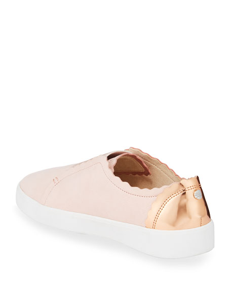 Cole Haan Grand Crosscourt Scalloped Slip-On Sneakers