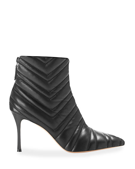 Marion Parke Maeve Quilted Napa Booties