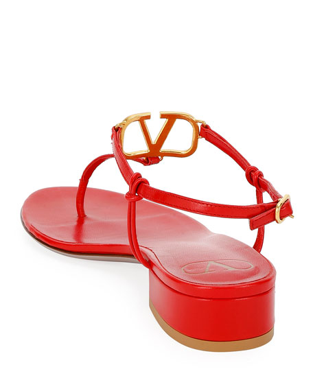 Valentino Garavani VLOGO Thong Sandals