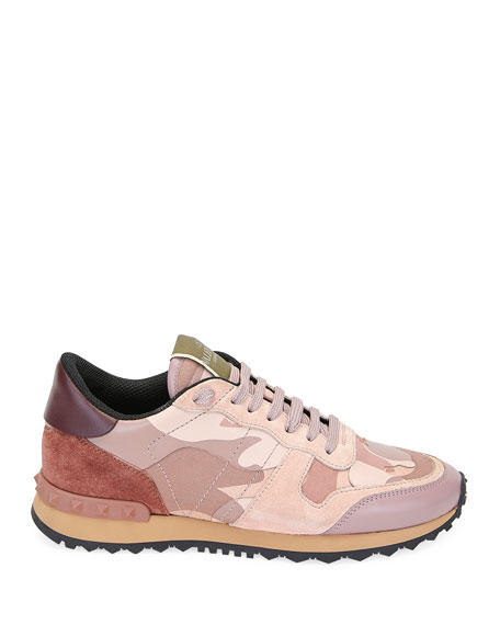 Image 2 of 3: Rockrunner Camo Lace-Up Sneakers