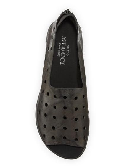 Image 3 of 3: Sesto Meucci Edwina Perforated Comfort Sandals