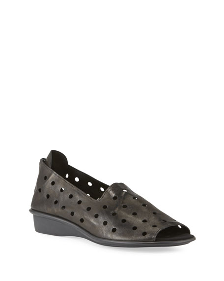 Image 1 of 3: Sesto Meucci Edwina Perforated Comfort Sandals