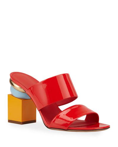 Lotten Modern-Heel Sandals