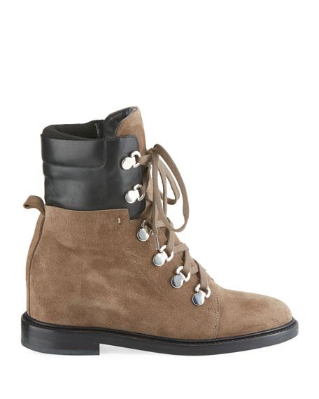 Aquatalia Clarissa Lace-Up Hiker Boots