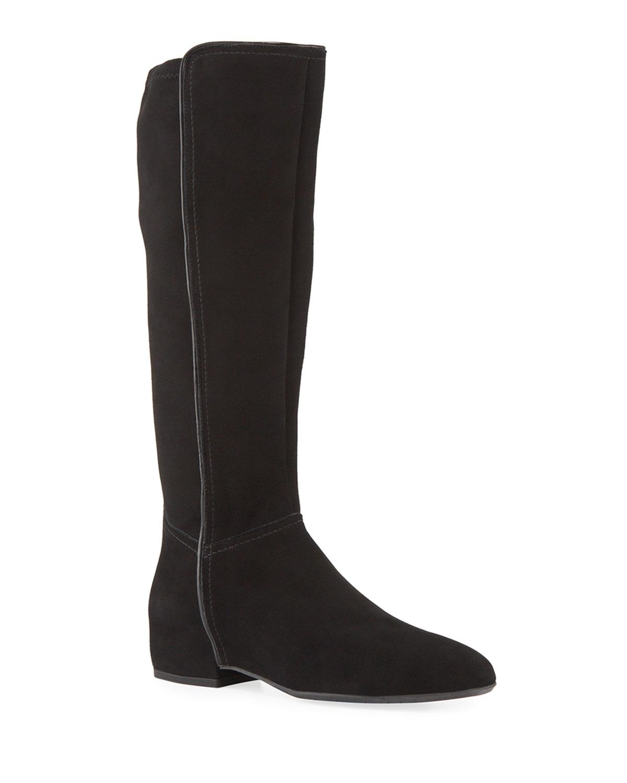 Ursele Stretch Knee Boots by Aquatalia