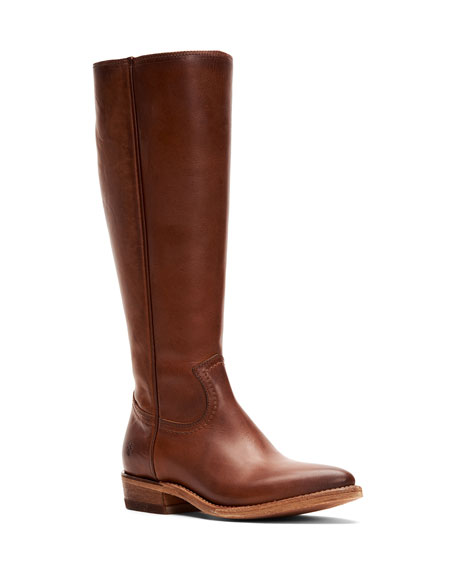 Frye Billy Zip Tall Leather Boots