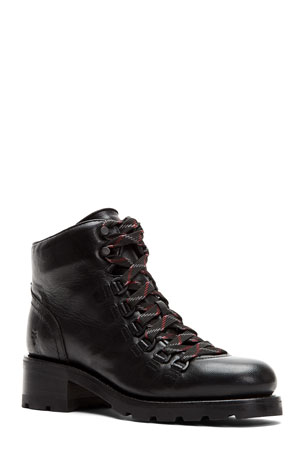 Frye Alta Hiker Lace-Up Booties