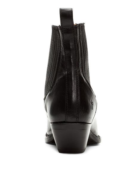 Frye Sacha Chelsea Leather Chelsea Booties