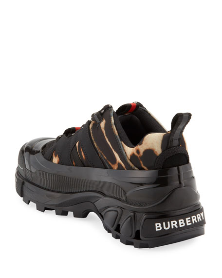 Burberry GH1 Capped Fabric Trainer Sneakers