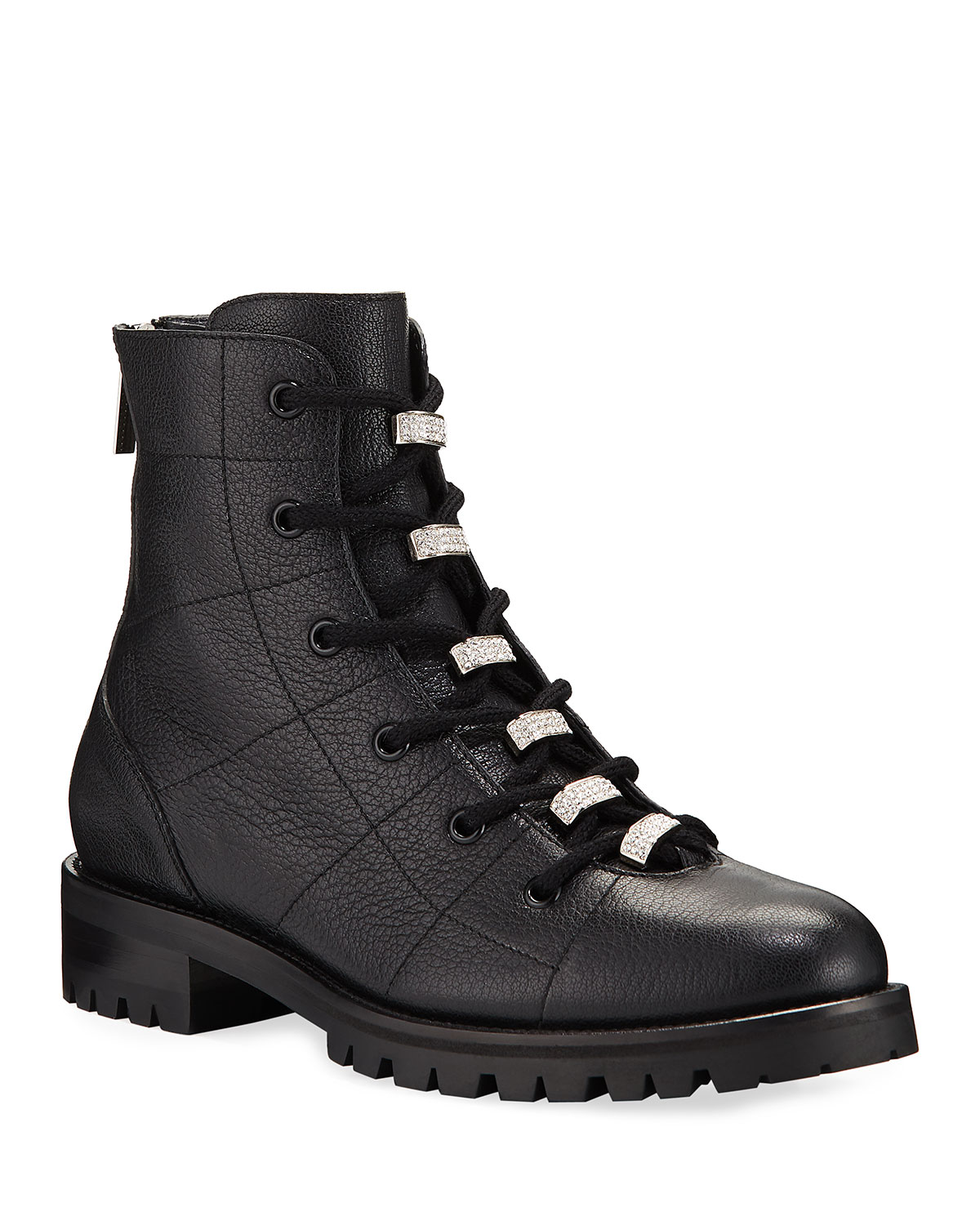 Jimmy Choo Bren Lace-Up Booties with