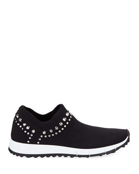 Jimmy Choo Verona Knit Stud Sneakers