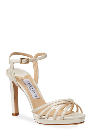Jimmy Choo Lilah Satin High-Heel Sandals