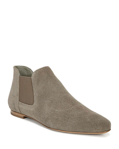 Camrose Flat Suede Ankle Booties