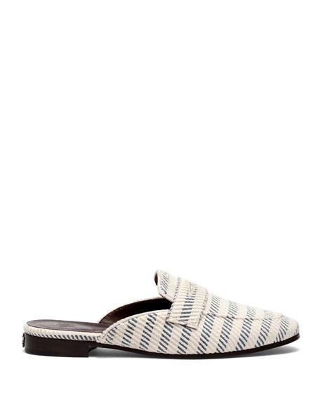 Bougeotte Tweed Slipper Mules