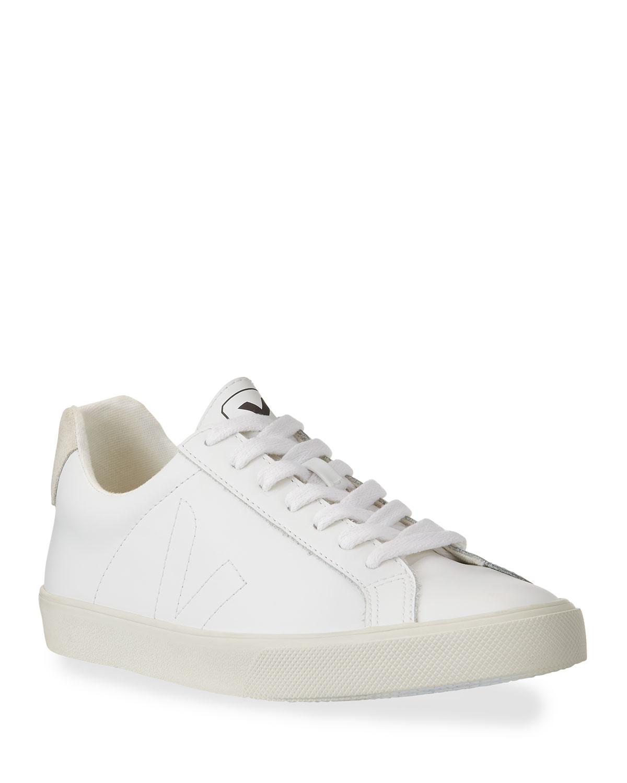 VEJA Esplar Leather Logo Sneakers