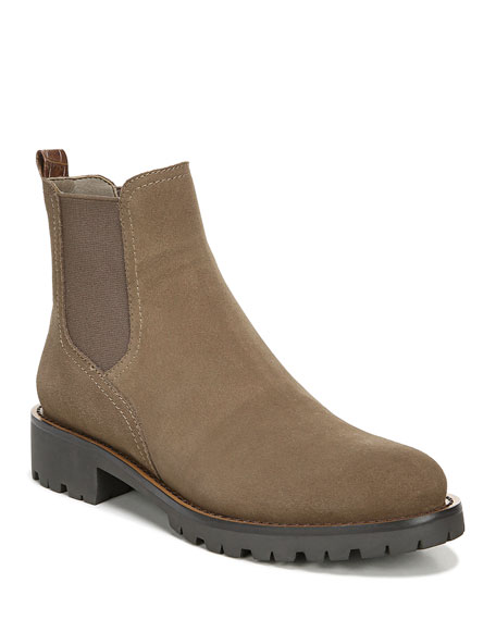 Sam Edelman Jaclyn Suede Gored Chelsea Boots
