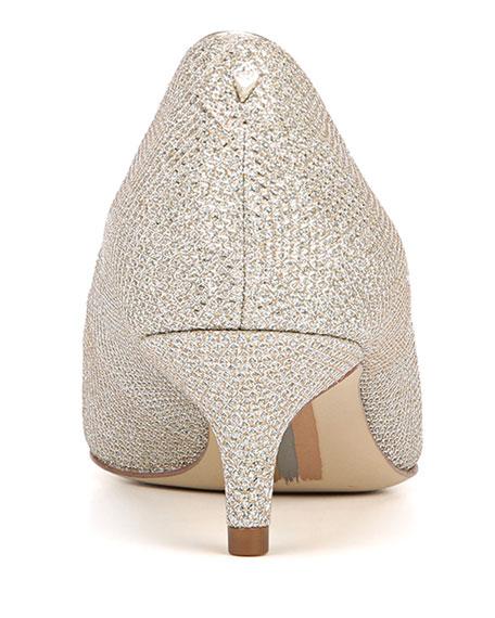 Sam Edelman Dori Glitter Fabric Pumps
