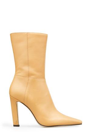 Jimmy Choo Merche Soft Leather High-Heel Boots