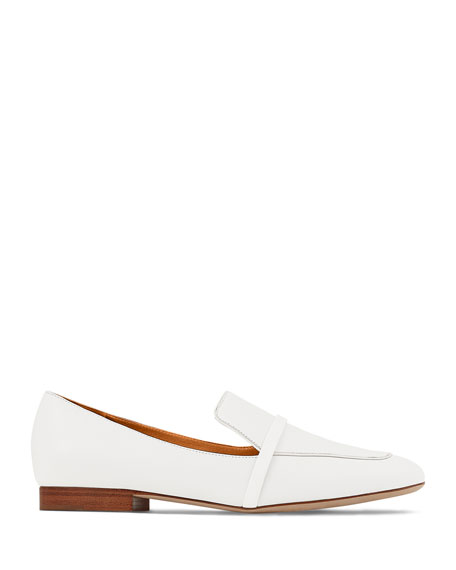 Image 2 of 2: Malone Souliers Jane Flat Patent Leather Loafers