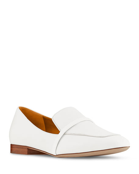 Image 1 of 2: Malone Souliers Jane Flat Patent Leather Loafers