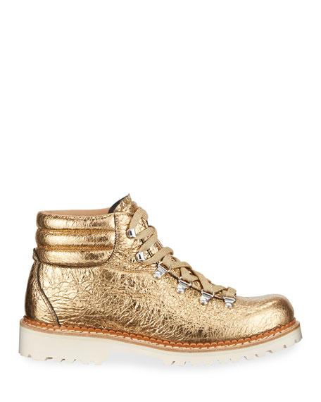 Montelliana 1965 Marlena Metallic Sneaker Boots