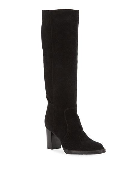 Aquatalia Breanna Suede Knee Boots