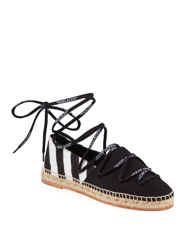 Off-White Shoelaces Diagonal Stripe