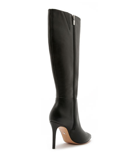 Schutz Magalli Leather Knee Boots