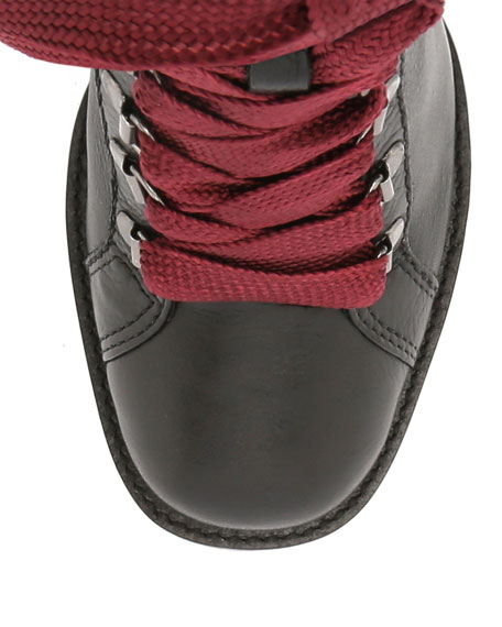 Schutz Zara Lace-Up Boots