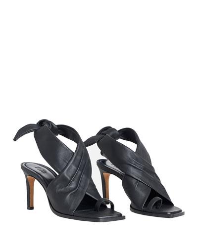 Axel Napa Tie Sandals